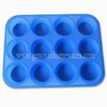 12 Cups Silicone Muffin Pan
